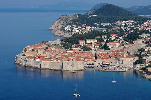 Bird's eye view of Dubrovnik | by Joe Lewit