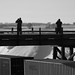The boys on the bridge by revbry