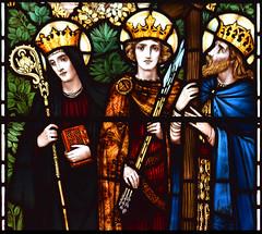 St Hilda, St Edmund, St Oswald (Powell & Sons, 1912)