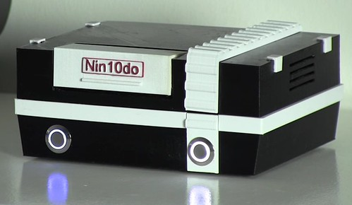 Nin10do RetroPi game console | by Felix Rusu, LowPowerLab.com