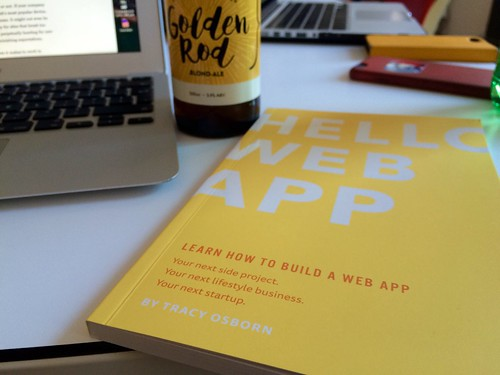 "Getting a lovely new copy of ""Hello Web App"" from @Limedaring.    https://hellowebapp.com 