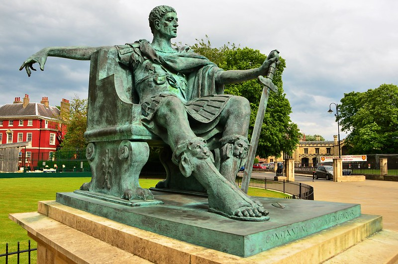 June 15 Statue of Constantine the Great York