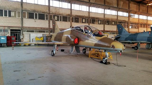 Hawk Mk.64 146 12Sq (No badge worn) Kuwait-AF/ KAF. Ali Al Salem Air-Base, Kuwait.