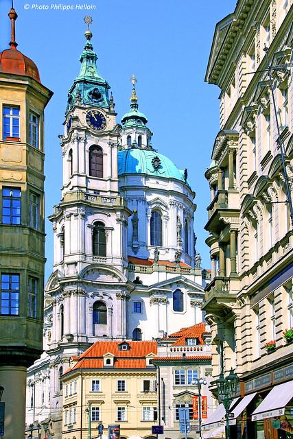 Église Saint-Nicolas de Malá Strana ©