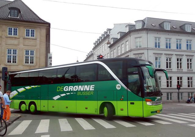 Setra S417 VZ93292 of De Grønne Busser