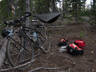 campsite near McKenzie Pass