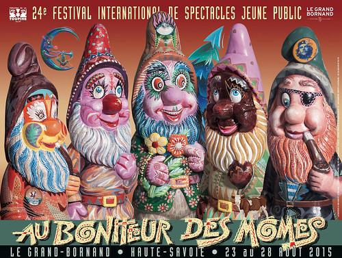 Affiche Festival Au Bonheur des Mômes - 2015 | by Le Grand-Bornand