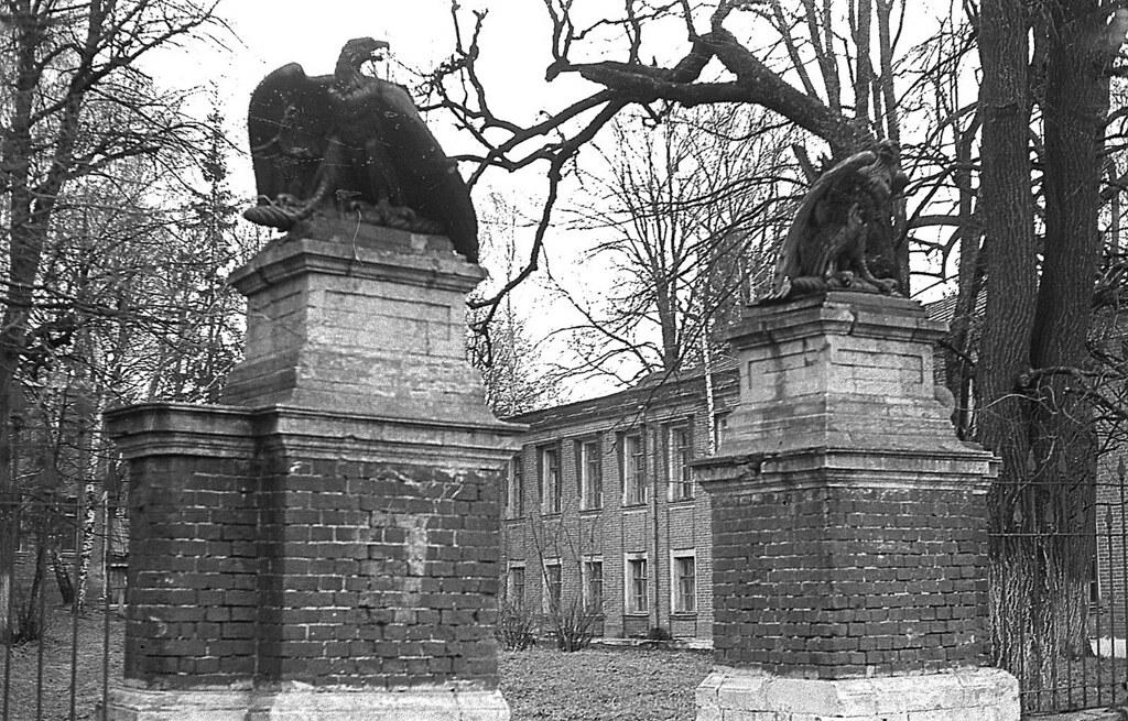 1979 прибл ноябрь - декабрь Семеновское орлы ворота фрагмент крупнее