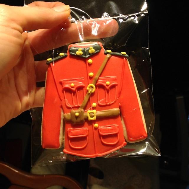 RCMP red coat