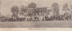 Pavilion on the Willunga Show Ground, 1906.