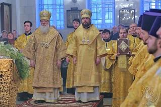 Литургия в Покровском соборе 130