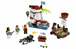 LEGO Pirates 70410 Soldiers Outpost 00 | by noriart