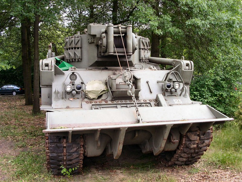 M74 Tank Recovery Vehicle 1