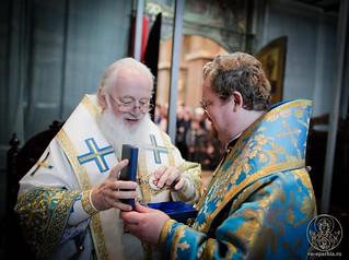 Литургия в Софийском соборе 640