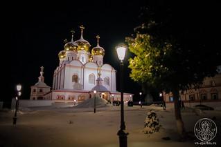 Великая вечерня в Иверском монастыре 20