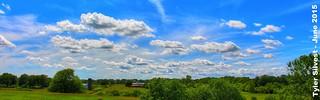 Spring Afternoon Landscape over Western Johnson County, KS 6-5-15 | by KansasScanner