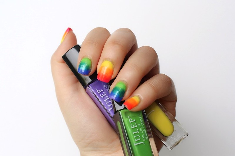 Rainbow Nails | A Look Back at 10 Years of Blogging Living After Midnite Blogger Jackie Giardina