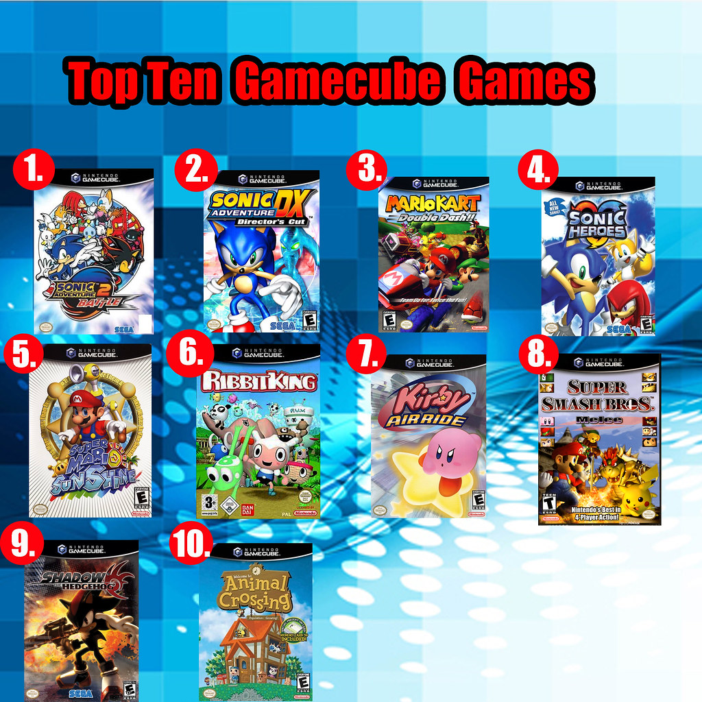 Top Ten Gamecube Games Here Are My Ten Favorite Games From