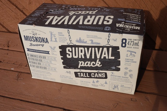 火, 2015-07-21 20:00 - Muskoka Survival Pack