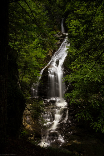 falls waterfall vermont nature water stowe mossglenbrook flowingwater greenmountains mossglenfalls canoneos60d unitedstates us