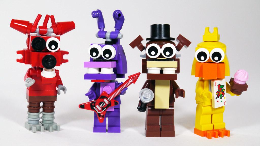 LEGO FNAF Animatronics | See how to build them: www youtube