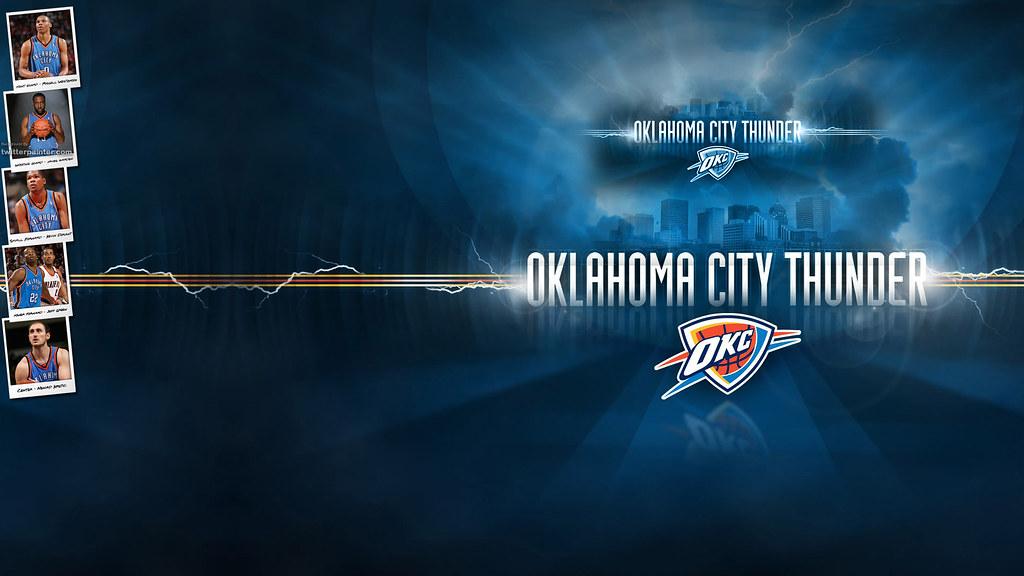 Oklahoma City Thunder Basketball Wallpaper Free Download O