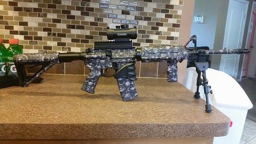 Reaper Black AR-15/M4