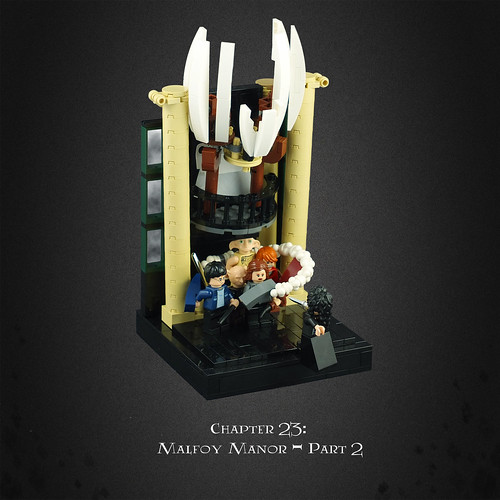 Harry Potter and the Deathly Hallows 14 – Escape from Malfoy Manor
