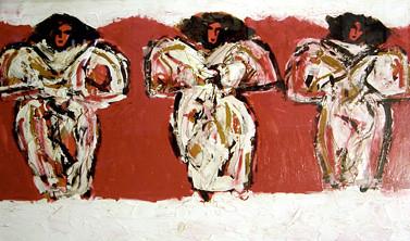 Tres Marias, Acrylic on Canvas