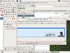 Ubuntu hoary screenshot