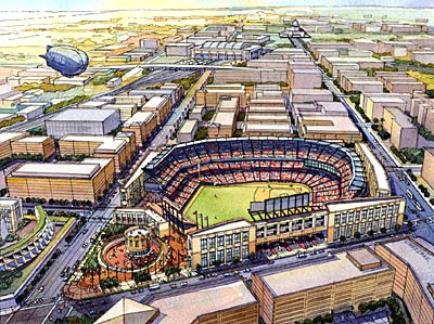 Proposed stadium in Washington
