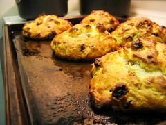 i made scones!