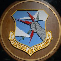 squared circle - strategic air command logo