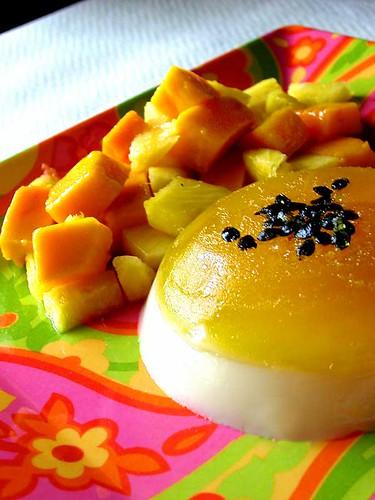 passionfruit pannacotta