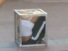 street contortionist