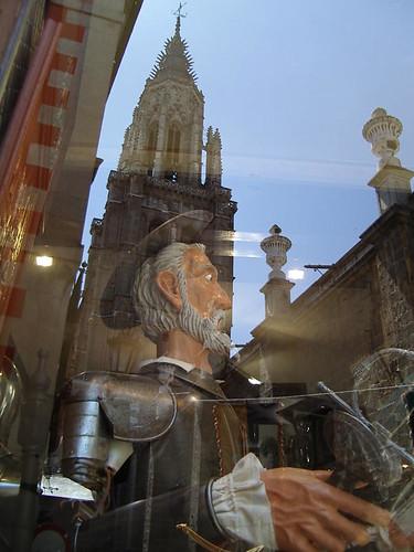 La Catedral de Toledo reflejada en Don Quijote