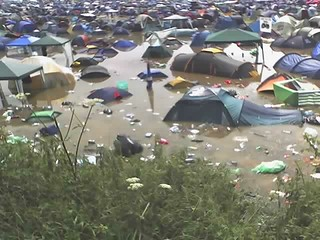 And I thought I was having a bad Glasto2005 | by markjgsmith