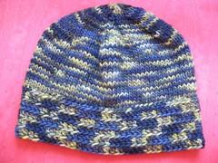 Croquet Brim Knitted Hat