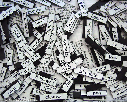 magnetic poetry | by surrealmuse