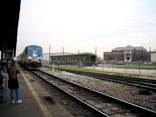 Amtrak Train Approaching | by mrbill