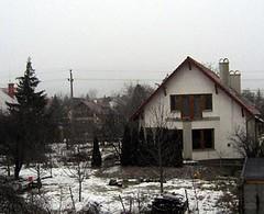 snowing in Budaors