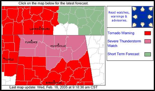 Cental Alabama is next