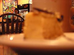 Blurry Cheesecake