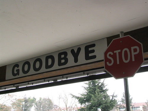 Goodbye Stop | by Peter Kaminski