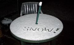 'Snow!'