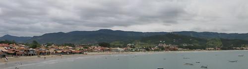 Garopaba Bay Panorama