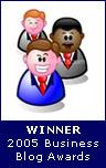Winner of Business Blogging Awards