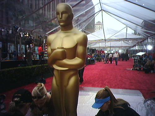 Oscar gets Ready for the Oscars