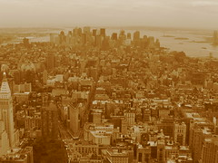 Manhattan vanaf het Empire State gebouw