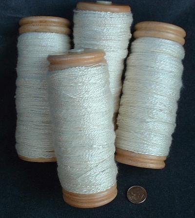 silk bobbins